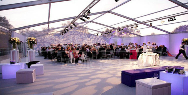 500 square meter aluminum frame wedding party tent