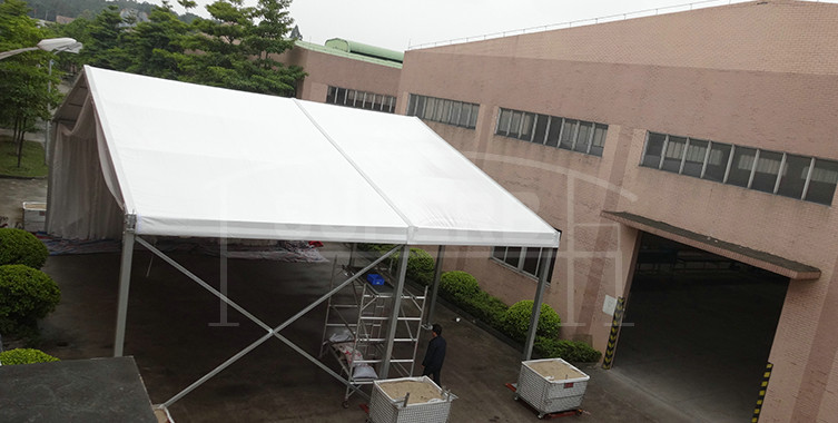 Medium size events tent with decoration lining [MS series]