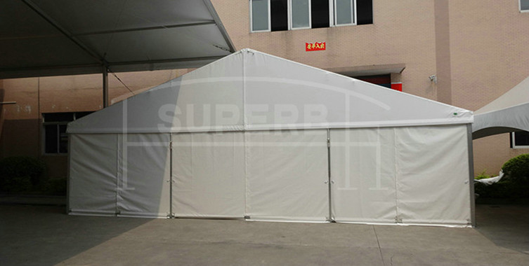 Good quality white PVC roof and sidewalls events tent [SS series]