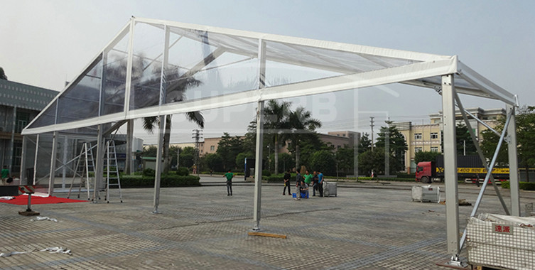 25x80m transparent PVC wedding tent [BS series]