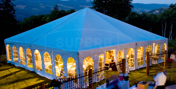 Top quality modern design Hexagon Six-sided tent for party–MS series