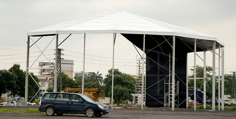 Multi-sided Tent for Exhibition with side height 10m [XLS series]