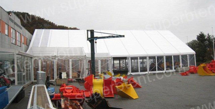 Aluminum Frame Warehouse Tent in Norway
