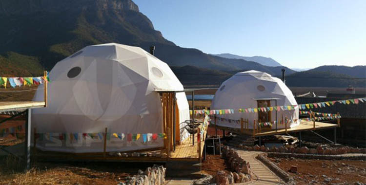 6m Sky vision hotel tent